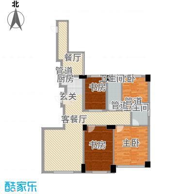 山海公园2-3#楼E户型