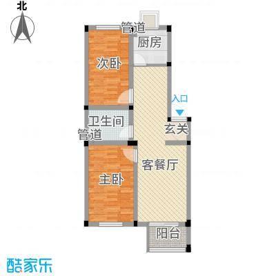 望海家园户型2室