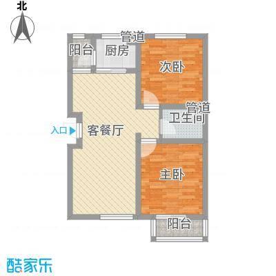 坦洲锦绣阳光花园7.00㎡户型2室