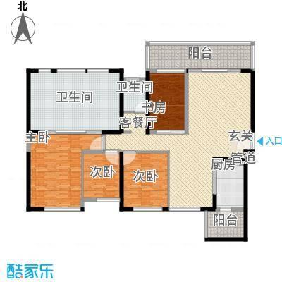 海峡国际湾区136.70㎡3栋4栋1、3户型4室2厅2卫