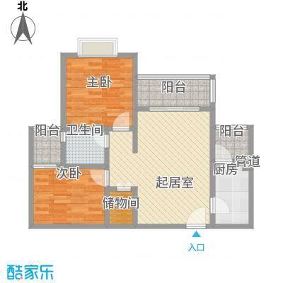 申烨太阳城三期三期31/32/34/35/36/37号楼标准层B1户型