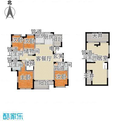 坤杰・拉菲香榭2F户型