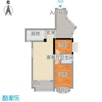 未来海岸浪琴湾户型3室
