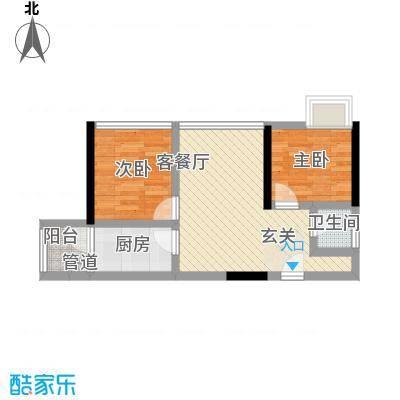 鸿翠阁5.40㎡1栋0户型2室2厅1卫1厨