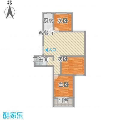 润鑫・公园壹号3#5#楼C-1户型