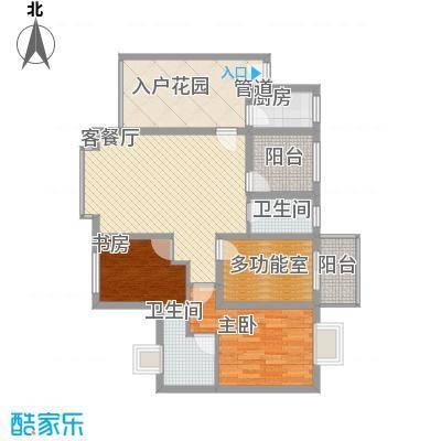 禹洲领海7号楼3-31层奇数层01、06单元户型2室2厅2卫1厨