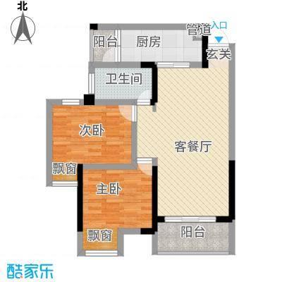 天安尚城二期3#楼2-33层A3户型