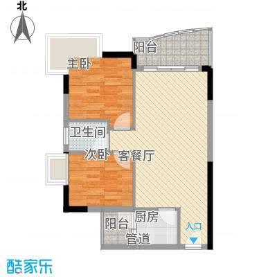 绿杨居户型2室