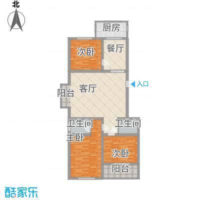 新升・琦锋苑11.80㎡C户型3室2厅2卫1厨