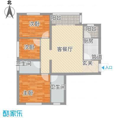 华夏奥韵12.31㎡户型