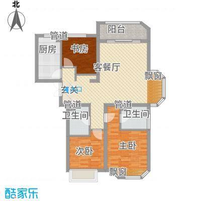 华夏奥韵11.00㎡户型