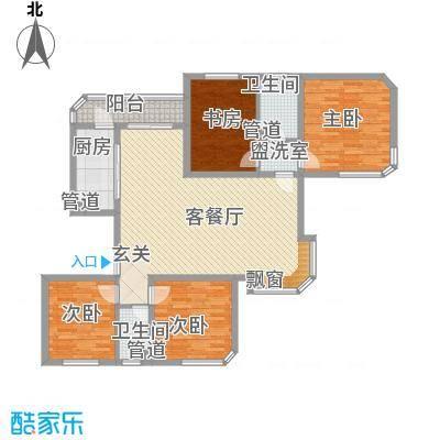 华夏奥韵15.00㎡户型