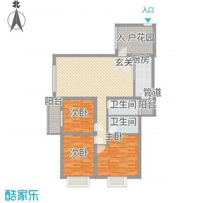 西江月户型3室