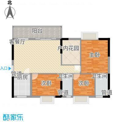 明福智富广场2座01单元户型