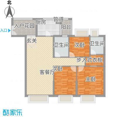 海湾半山户型3室