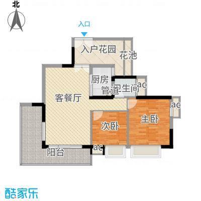 招商花园城17.85㎡9栋0户型4室2厅2卫1厨