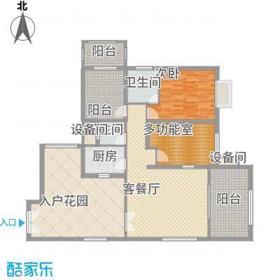 禹洲领海7号楼2-30层偶数层03、08单元户型2室2厅2卫1厨