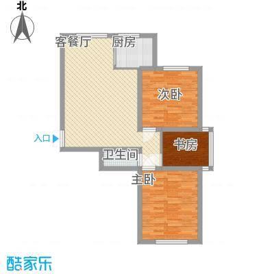世纪春天C户型3室2厅1卫1厨