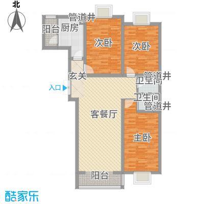 黄金海岸E栋E户型