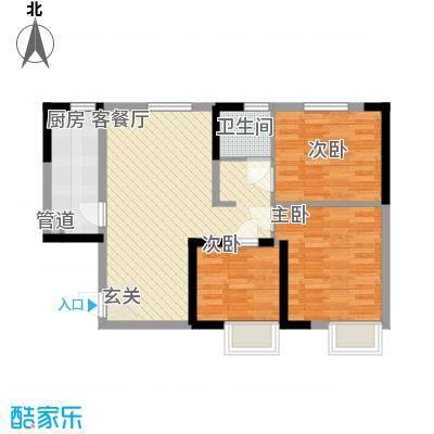 蓝光星华・海悦城四期M户型