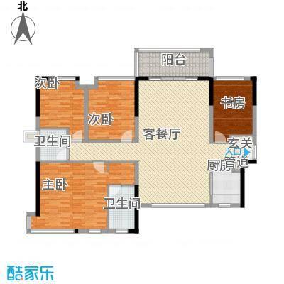 世纪城国际公馆三期235.00㎡世纪城国际公馆仁里户型4室