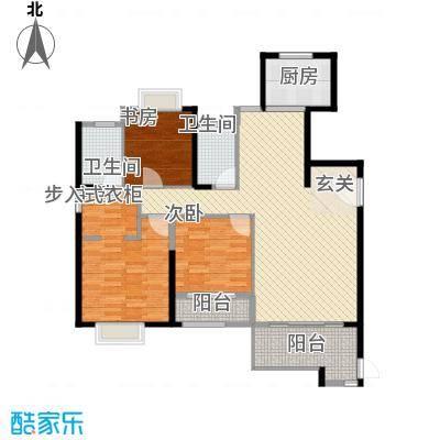 中铁海曦3户型