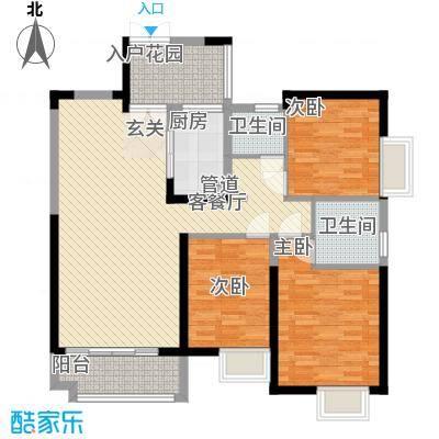 世纪城龙贤苑5.00㎡户型2室