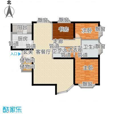 怡富花园5.00㎡户型2室