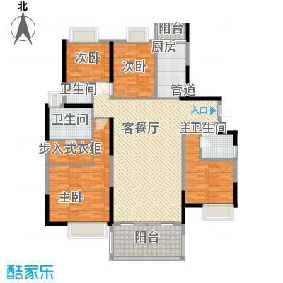 鹿�村145.00㎡户型3室
