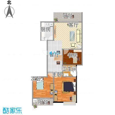 正和城A区3户型三室两厅