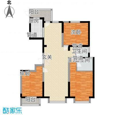 育秀中心23户型3室2厅2卫1厨