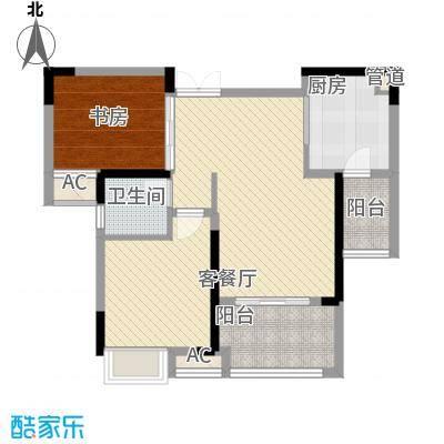 麒川时代广场一期洋房3-7号楼B户型