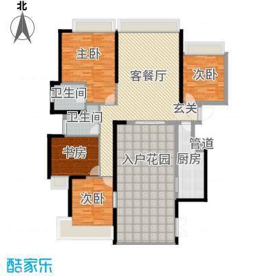 国际邮轮城一期(一期)南区1#楼33层04单元户型