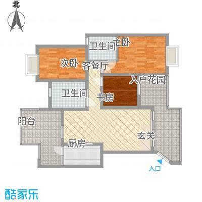 世纪城龙祥苑7.00㎡户型2室