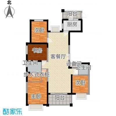 华城花园166.00㎡D户型4室2厅2卫1厨