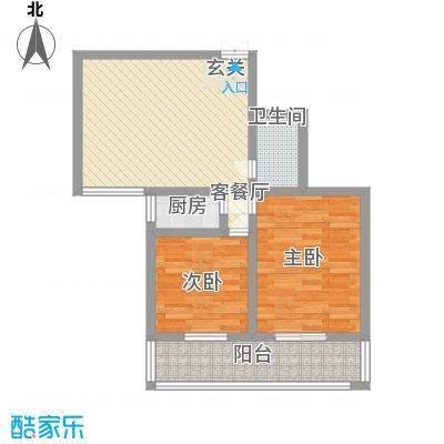 海河苑6.32㎡A1户型