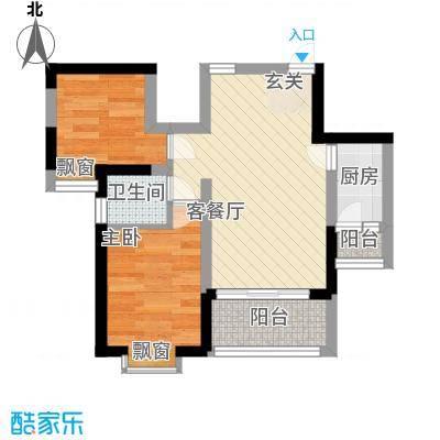 世纪城龙祥苑51.00㎡户型1室