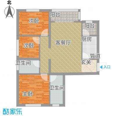 华夏奥韵12.31㎡户型-副本