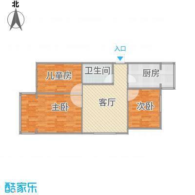 北京-修造厂三居室-设计方案