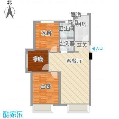中国铁建青秀蓝湾2.00㎡中国铁建户型