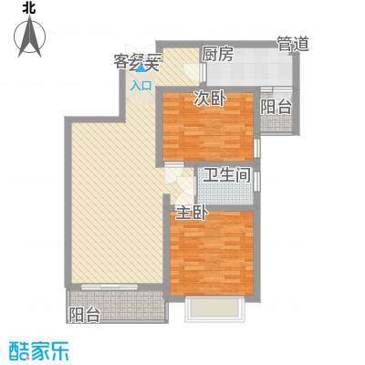 金色花语城1号楼1/2单元B3户型