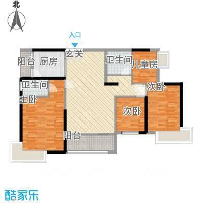 礼顿・金御海湾137.00㎡L户型4室2厅2卫1厨