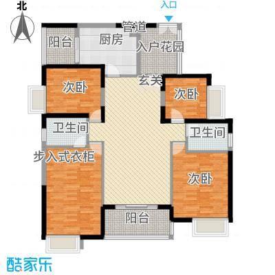 世纪城幸福公馆4栋标准层卡地亚户型