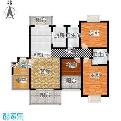 名扬鑫城户型3室1厅2卫1厨-副本
