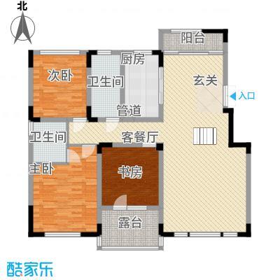 源山别院洋房6层B户型