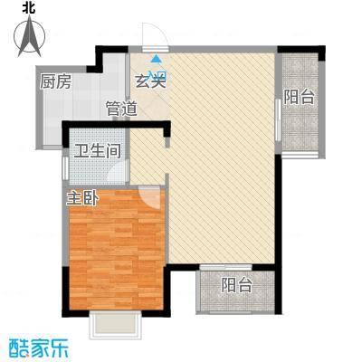 光谷地产梅花坞123.33㎡B1号楼B2户型3室2厅2卫1厨