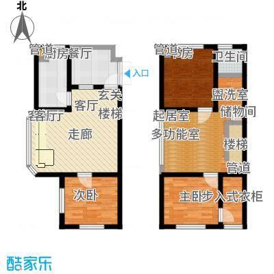 申亚花满庭95.84㎡小高层G1户型东