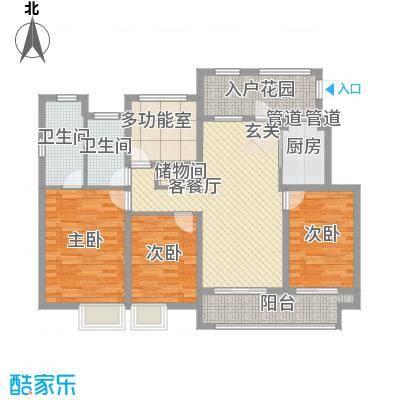 万科城一期洋房Y2#Y3#Y5#Y8#Y9#标准层H户型