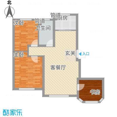 欧尚广场B8号楼C2户型