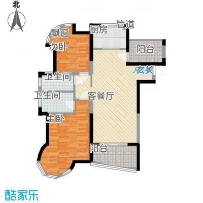 百商悦澜山H1户型